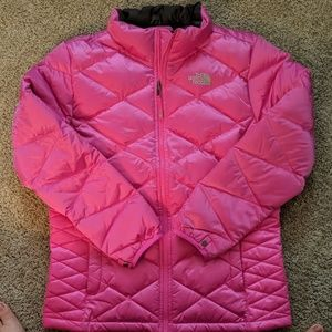 Girls XL The North Face 550 Pink Coat